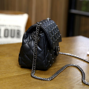 Small Vintage Rivet Cross-body Bag - Hidden Gem Bags & Accessories.