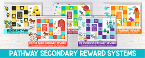 Pathway Rewards - Engaging and Motivating Secondary Rewards for the Online ESL Classroom