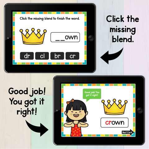 ESL Phonics Cards, Activities and Digital Games