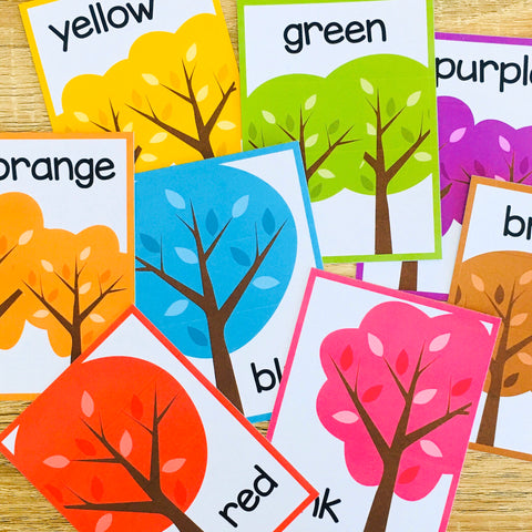 Free Color ESL Flashcards for Vocabulary Games and Vocabulary Activities