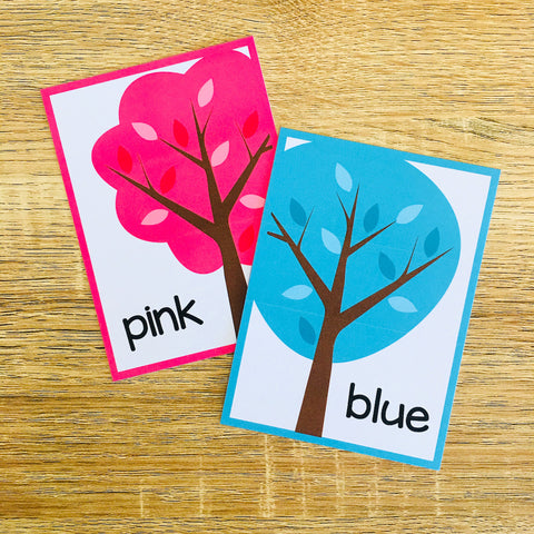 Free Colors Flashcards for ESL Vocabulary Activities and Vocabulary Games