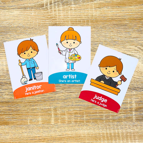 Printable ESL Flashcards for Vocabulary Games and Vocabulary Activities