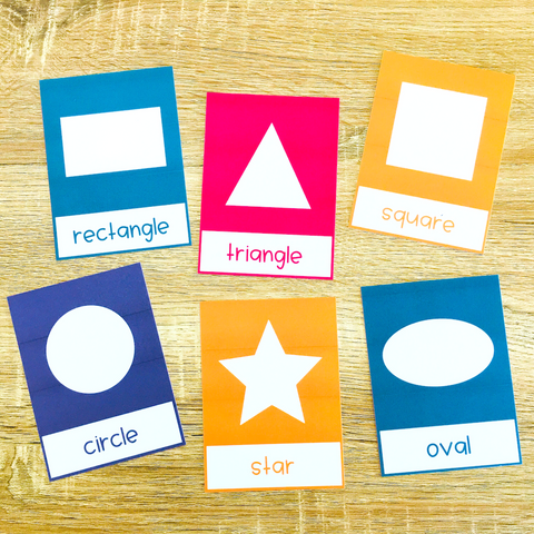 Shapes Flashcards for Online ESL and VIPKID Teachers