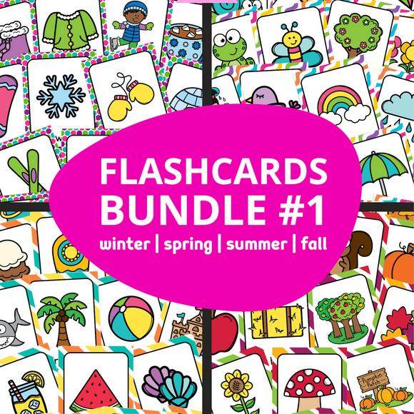 ESL Flash Cards Bundle #1