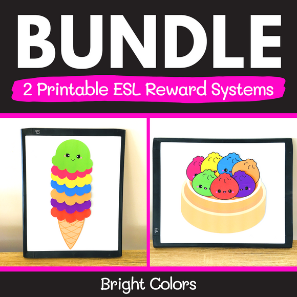 ESL Reward Systems BUNDLE (Bright Colors)