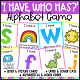"Alphabet ""I Have, Who Has?"" Game"