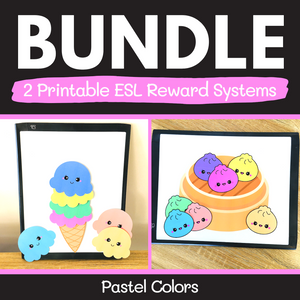 ESL Reward Systems BUNDLE (Pastel Colors)
