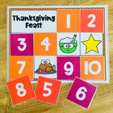 FREE Thanksgiving Find a Star Reward System