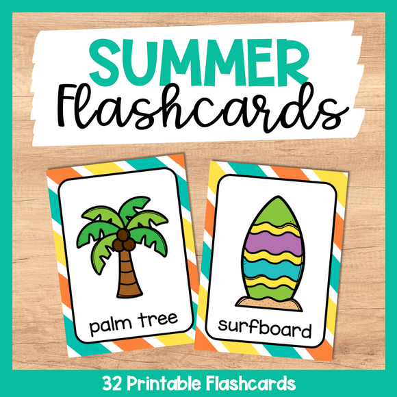 Summer Flashcards