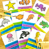 Ocean Animals Worksheets, Activities and Games BUNDLE
