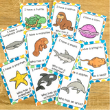 "Ocean Animals ""I Have, Who Has?"" Game"