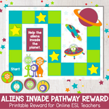 Aliens Invade Pathway Reward