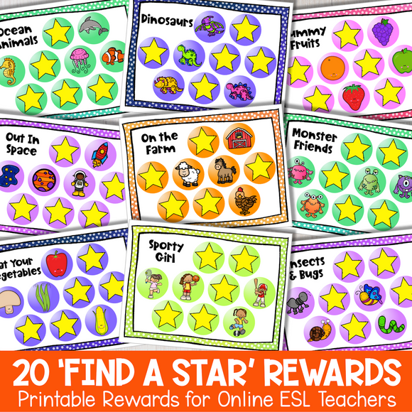 'Find a Star' Secondary Reward System (SET 1)