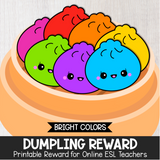 Dumpling Secondary Reward (Bright Colors)