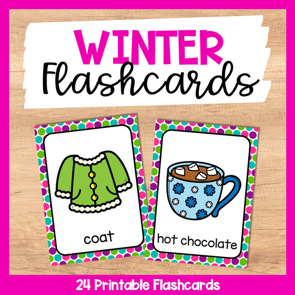 Winter Flashcards