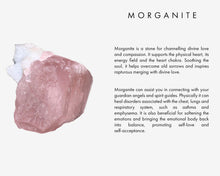Load image into Gallery viewer, MORGANITE + RAW AMETHYST Necklace