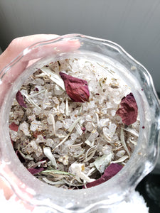 NEW MOON | RITUAL BATH SALTS | LUXURY SPA TREATMENT