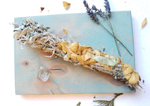 Load image into Gallery viewer, LARGE HERBAL SMOKE CLEANSING WANDS | CEREMONY HERBS