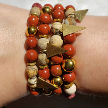 Load image into Gallery viewer, BOHO BABE | Jasper Bracelet Stack
