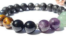 Load image into Gallery viewer, Aromatherapy Lava bracelet Confidence, Stress relief, Manifesting Abundance, Grounded, Psychic & Spiritual Protection, Negativity Free ship - Hvnly Boutique