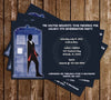 Doctor Who - 13th Doctor - Birthday Invitation