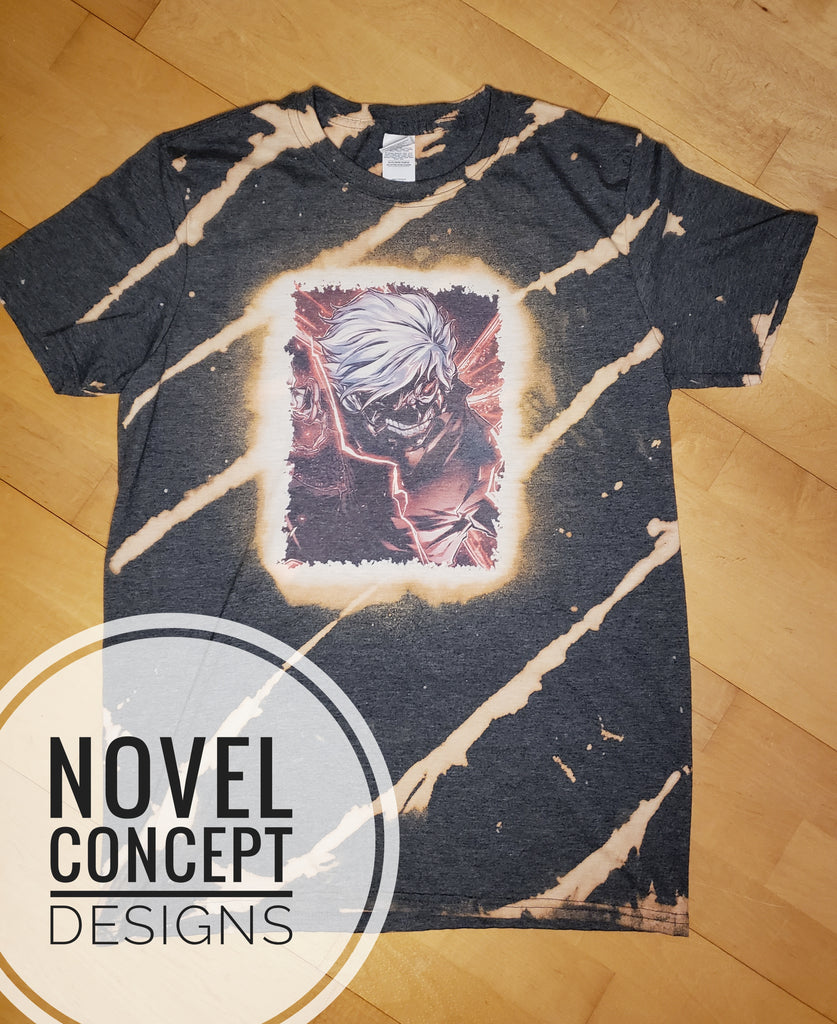Tokyo Ghoul - Anime - Distressed - T-Shirt