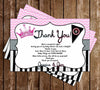 Pirate or Princess - Gender Reveal - Thank You Card