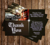 Attack on Titan - Video Game - Birthday Party - Thank You Card