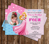 Disney Princess Aurora - Sleeping Beauty - Birthday Invitations (PINK)