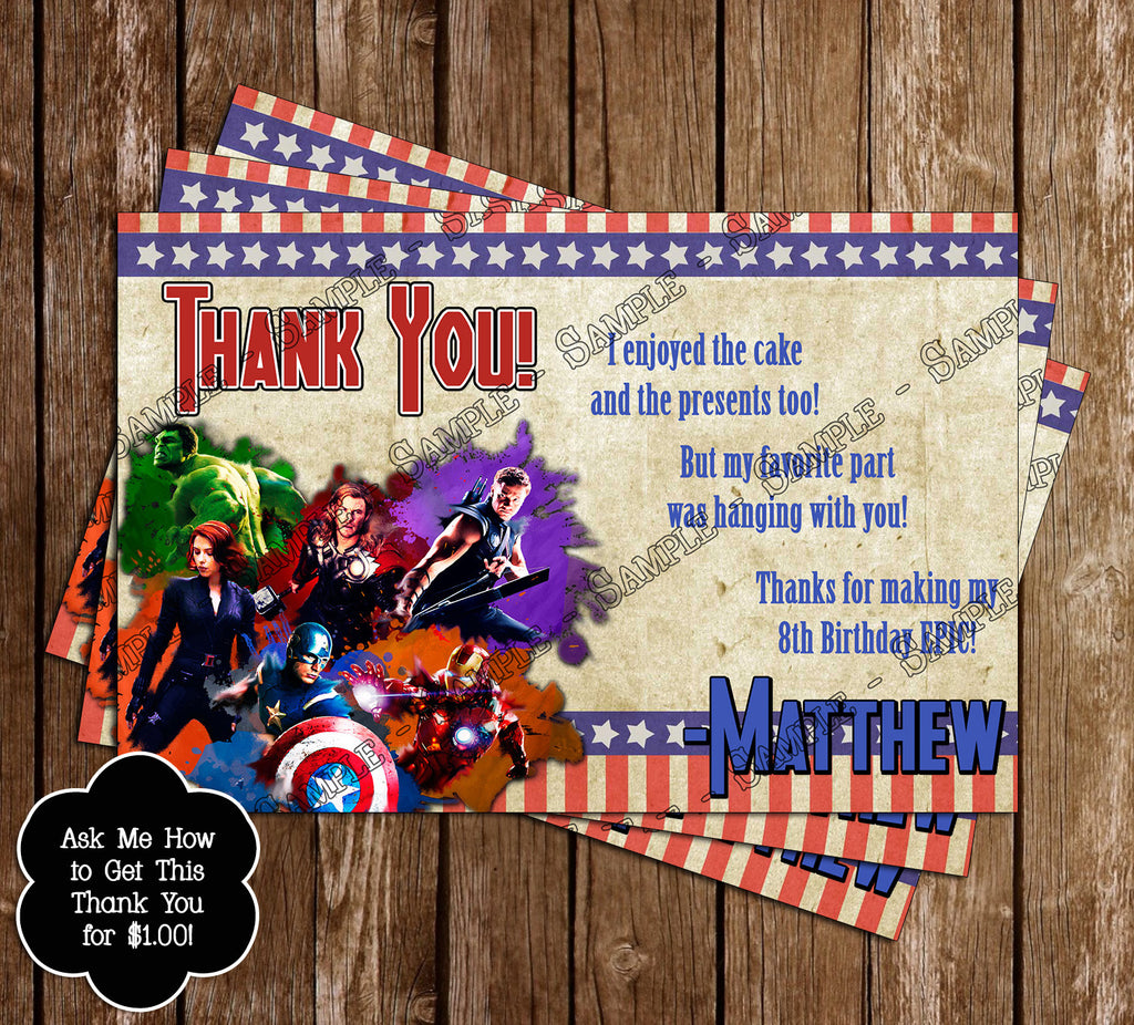 Novel Concept Designs Marvel The Avengers Movie Birthday Ticket – Ticket Invitation Maker