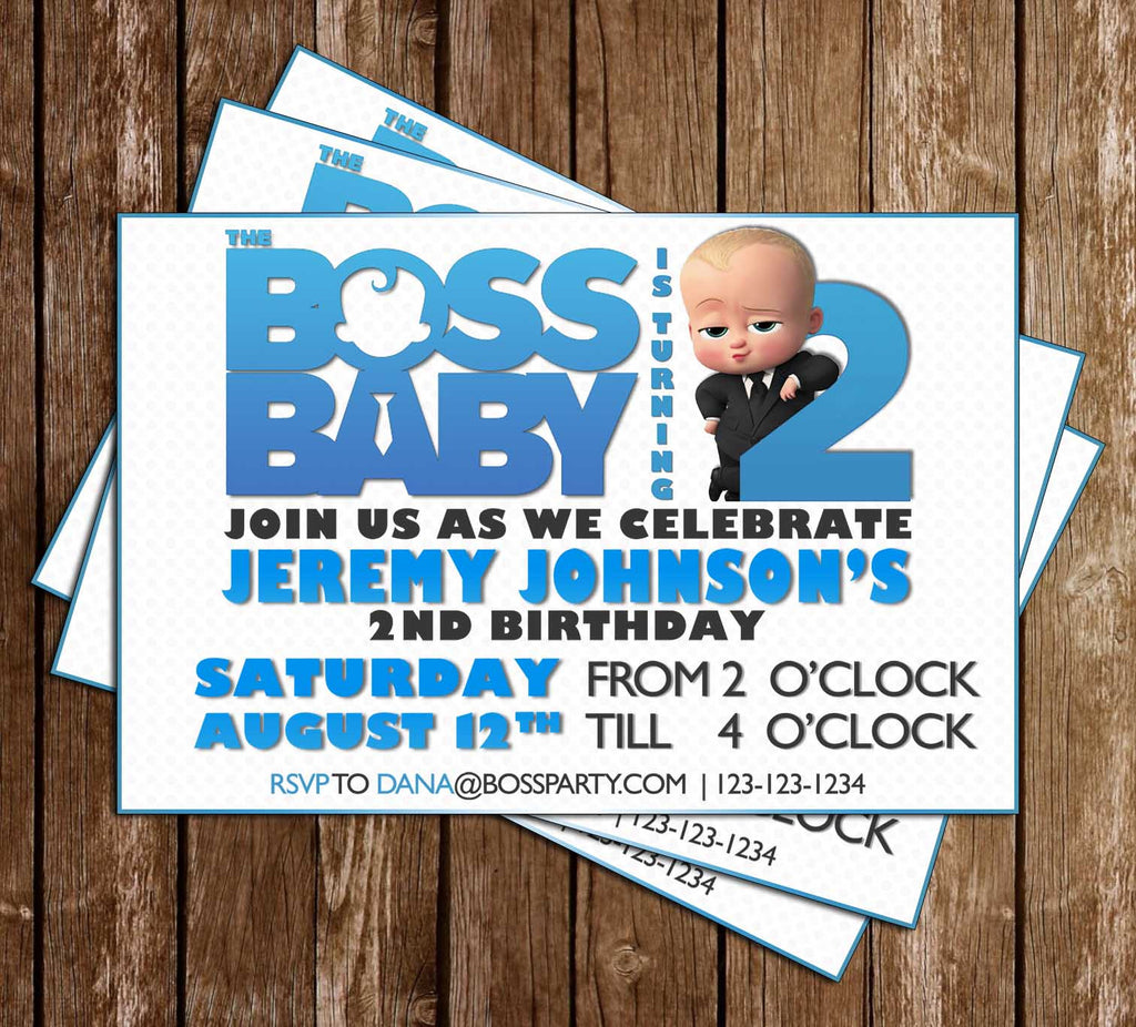 Novel Concept Designs - Boss Baby - Movie - Birthday Party ...