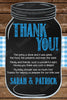 BBQ - Baby-Q - Baby Boy - Baby Shower - Thank You Card