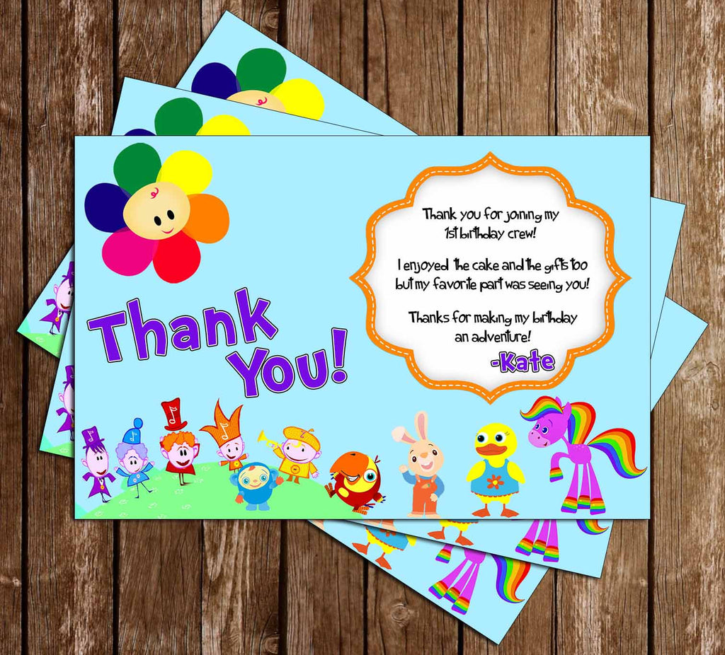 Novel concept designs baby first tv 1st birthday birthday baby first tv 1st birthday birthday thank you card bookmarktalkfo Image collections