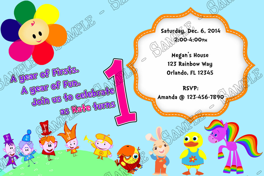 Novel Concept Designs Baby First TV 1st Birthday Birthday