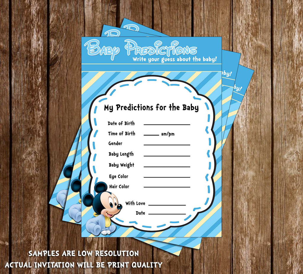 Novel Concept Designs Baby Mickey Mouse Baby Boy Baby Shower