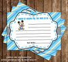 Mickey Mouse - Baby Boy - Baby Shower Invitation