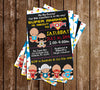 Baby Marvel Superheroes - Cominc Book - Baby Shower - Invitation