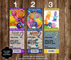 Backyardigans Birthday Party Ticket Invitations