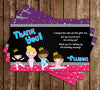 Ballet - Dance Birthday Party Thank You Card