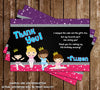 Ballet - Slippers - Birthday Party - Invitation