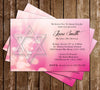 Bat Mitvah - Jewish - Thank You Card