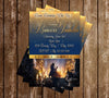 Beauty and the Beast - Disney Movie - Birthday Party - Invitation