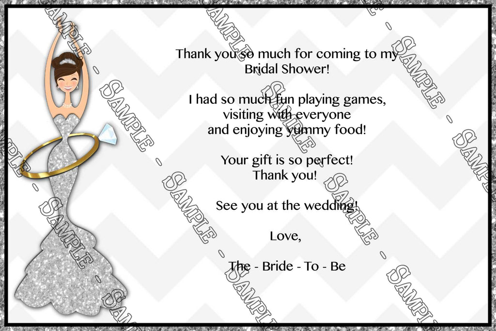 before she becomes a mrs bridal shower thank you card