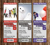 Big Hero 6 Movie Birthday Ticket Invitations