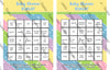 Oh the Places You'll Go - Bingo Game - Dr Seuss - Baby Shower Game