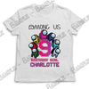 Among Us - Birthday Child - T-Shirt - Personalized