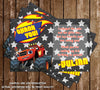 Blaze and the Monster Machines Birthday Party Invitation