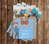 Blippi - Photo - Tall - Birthday Party - Invitation