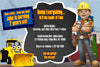 Bob the Builder - PBS Show -  Birthday Invitation
