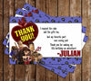 The Book of Life Birthday Thank You Card